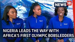 Winter Olympics 2018 | Nigeria Leads the Way with Africa's First Olympic Bobsledders