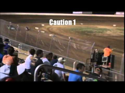 Tim Brown racing at Kentucky Lake Motor Speedway 7/12/2014 late model division