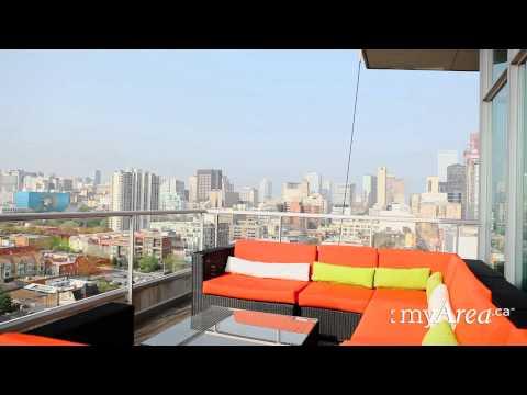 Toronto Real Estate - Penthouse Skyloft with Two Terraces - myArea.ca