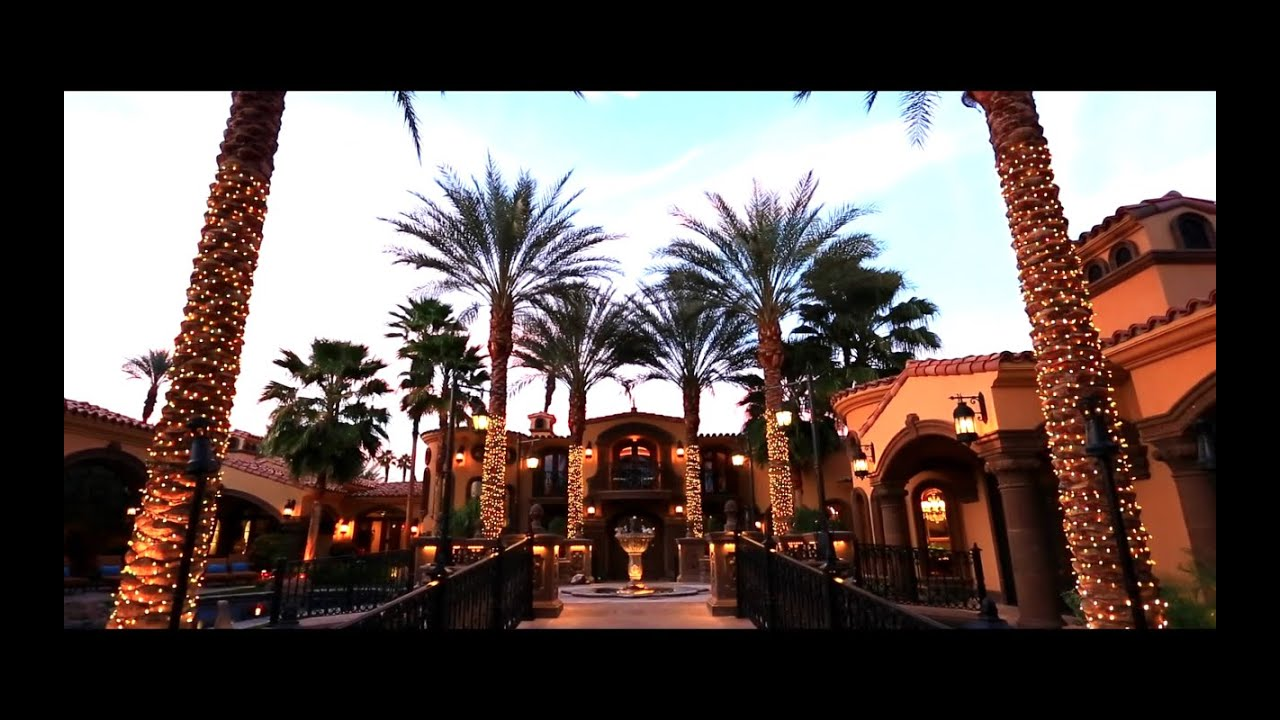 Rancho mirage luxury estate 14 strauss terrace youtube for Watch terrace house