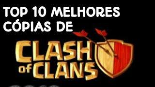 Top 10 Jogos parecidos com Clash of Clans!!!