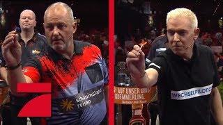 Frank Rosin &  Phil Taylor vs. H.P. Baxxter & Raymond van Barneveld | Gruppenphase | Promi Darts WM