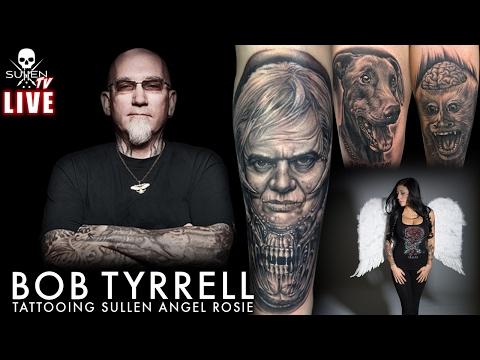 Live Tattoo | Bob Tyrrell