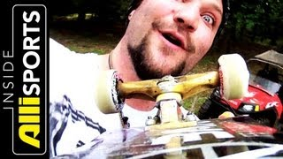 Bam Margera Shows Chris Nieratko His Art & Talks Projects | Inside Alli Sports