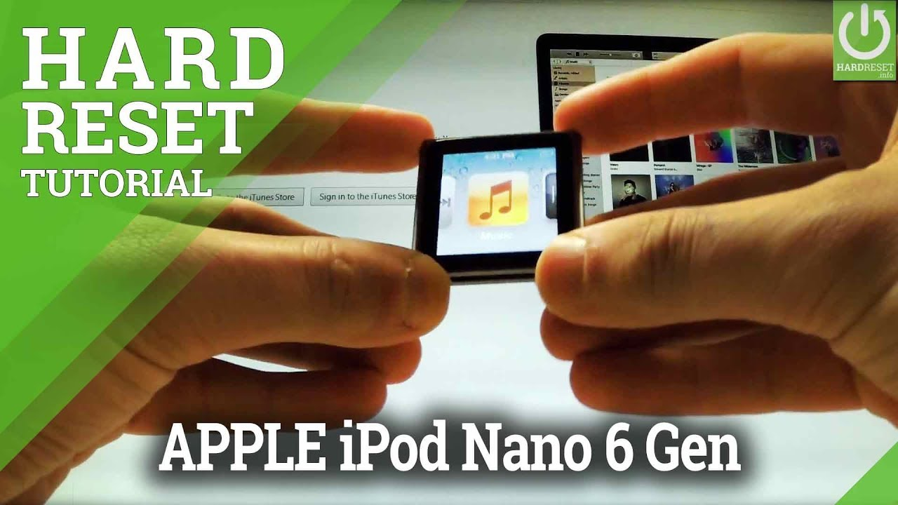 How to restore ipod/ipod touch/nano/shuffle from itunes/ icloud.