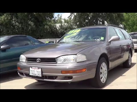 1993 toyota camry wagon walkaround 3 0 l v6 youtube. Black Bedroom Furniture Sets. Home Design Ideas