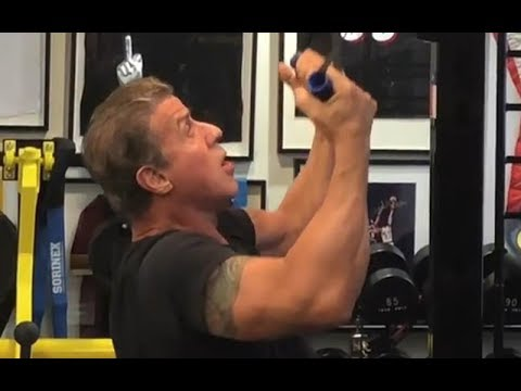Sylvester Stallone || Training for Creed 2 || At Age 71