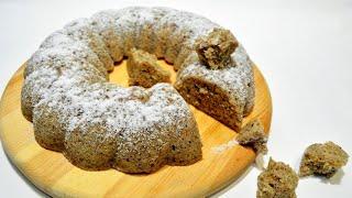 ТОРТ ЗА 5 МИНУТ! Ореховый торт за 5 минут. Пятиминутка. Простой рецепт.