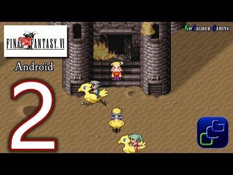 FINAL FANTASY 6 (VI) Android Walkthrough - Part 2 - Figaro Castle