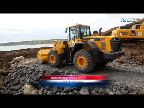 Дорога, уходящая в море: строительство моста в Керчи (фото, видео)