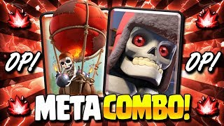 INSANE! NEW META COMBO IS TAKING OVER!! EASY TROPHY DECK! - Clash Royale