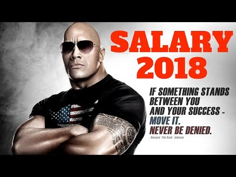 Actor Salary | The Rock gets paid for a single movie is unheard of in today's movie business