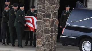 Tribute for Fallen Hero Spc. James Miller.wmv