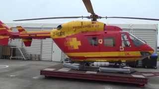 Medicopter 117 at Seaflughafen Cuxhaven/Nordholz