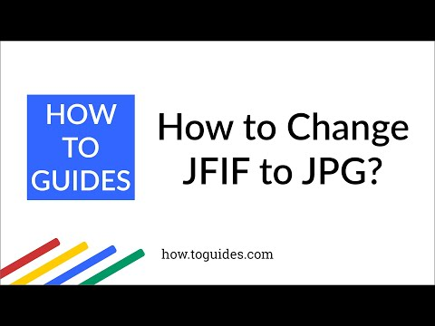 How To Change JFIF To JPG In Windows 10 ?