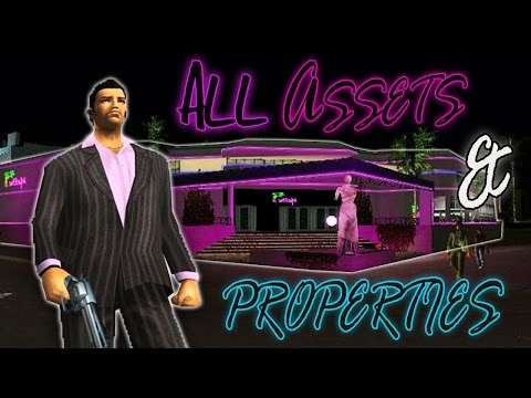 GTA Vice City | Buying All Assets And Properties (PC)