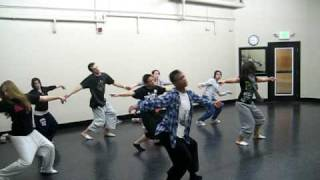 Dra'shawn's contemporary class