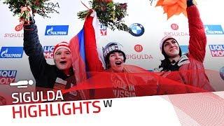 Nikitina produced a dominant display in Sigulda | IBSF Official
