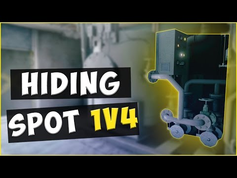 Hiding In The Objective In Ranked  Rainbow Six : Siege