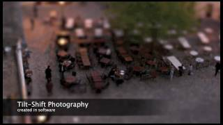 Tilt - Shift - Focus : Create tilt-shift and depth of field effects on your mac.