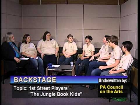 """1st Street Players production of """"Jungle Book Kids; Domino Players """"Twelfth Night""""   3-16-16"""
