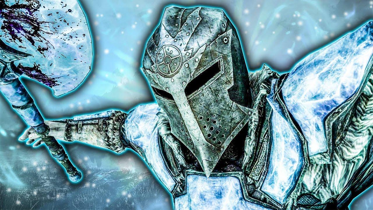 Skyrim SE Builds - The Cryomancer - Remastered Build