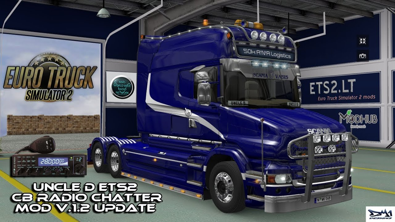 Steam Community :: Video :: Uncle D ETS2 CB Radio Chatter