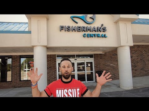 Tackle Shop Tour - Fishermans Central