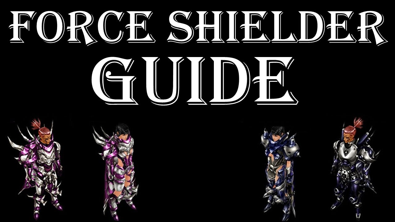 Force Shielder skills - Official Cabal Wiki