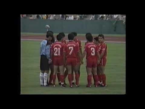 第27回JSL開幕戦 読売クラブvs三菱自動車 - YouTube