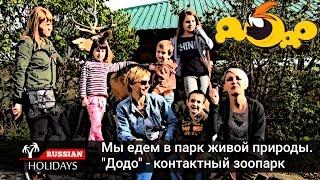 """Развлечения для детей в парке живой природы """"Додо"""". Мир животных в контактном зоопарке"""