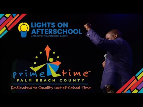 Prime Time Palm Beach County Lights On Afterschool 2018: Coffee with a Cause