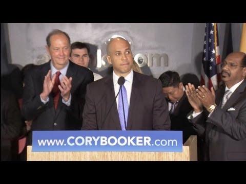 Cory Booker Senate Announcement