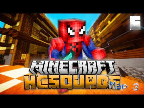 Minecraft HCSquads Map 3 LP! EP 6! Half a Heart Lag Out Clutch!