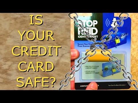 RFID Credit Card Protector | avoid Credit Card Fraud