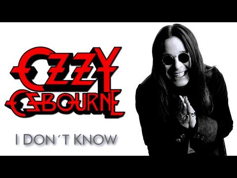 Ozzy Osbourne - I Don`t Know (subtitulado inglés-español)