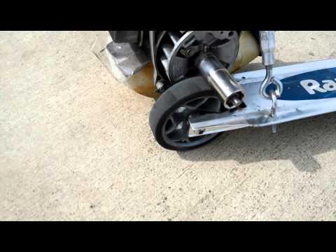 Leaf Blower razor scooter