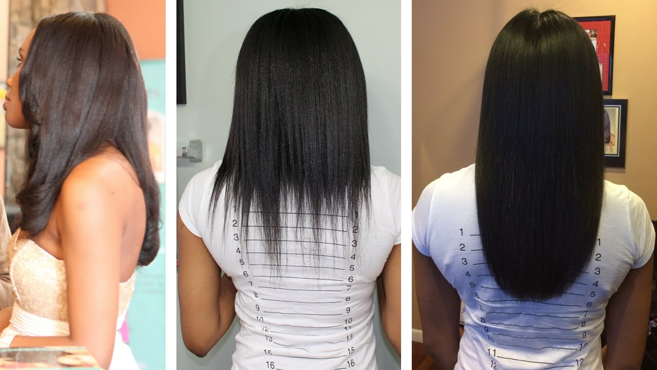 Relaxed Hair Journey Setback To Comeback 2014 2016