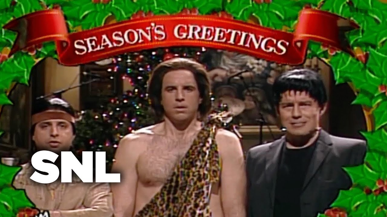 Seasons greeting from tarzan tonto and frankenstein ii snl youtube seasons greeting m4hsunfo