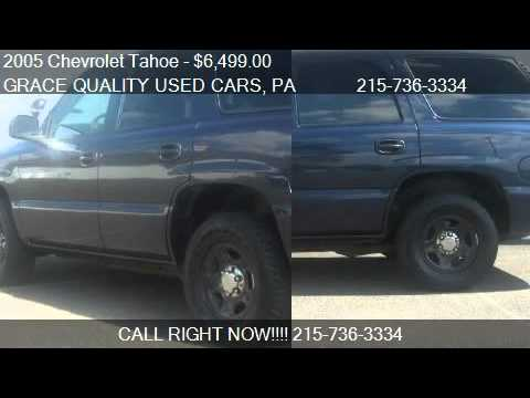 2005 Chevrolet Tahoe Police Package  for sale in Morrisvill  YouTube