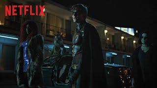 Bekijk hier de 'donkere' trailer van Titans