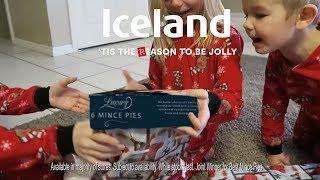 Iceland Christmas Advert 2017 - Luxury Mince Pies