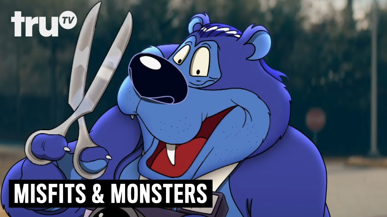 """Download Bobcat Goldthwait's Misfits & Monsters - First Look at """"Bubba the Bear"""" 