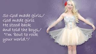 RaeLynn - God Made Girls Lyrics (DOWNLOAD MP3)