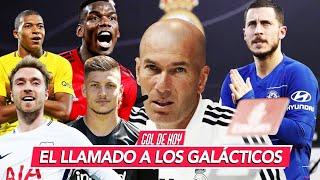 Los 3 FICHAJES GALÁCTICOS del REAL MADRID I #goldehoy