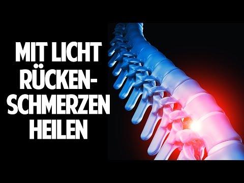 Mit Licht Rückenschmerzen heilen - Die Revolution in der Informationsmedizin