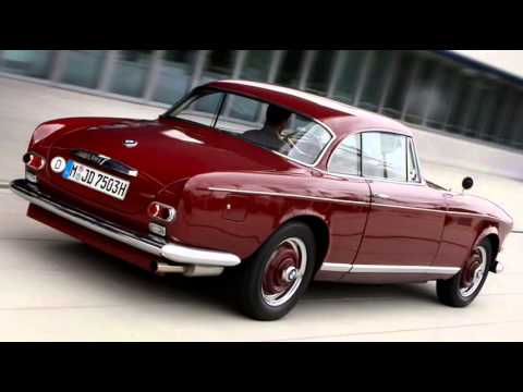 1956 BMW 503 Coupe 3.2 V8 140 hp 185 kmh 0-100 kmh 13 s - YouTube