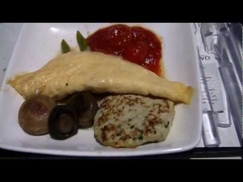 Qatar Airways Inflight Meals (Breakfast)