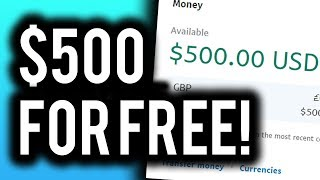 Earn $500 Online For FREE! (Step By Step) - Make Money Online 2019