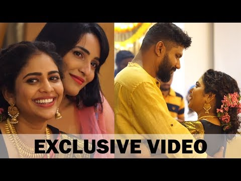 Actress Srinda Weds Siju | Wedding Highlights | Exclusive Video